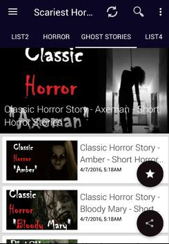 Scary Audio Stories - Horror, Ghosts, Halloween    for Android - APK