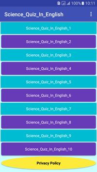 Science_Quiz_In_English poster