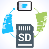 files to sd card pro icon