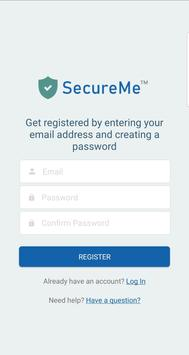SecureMe Security App screenshot 2