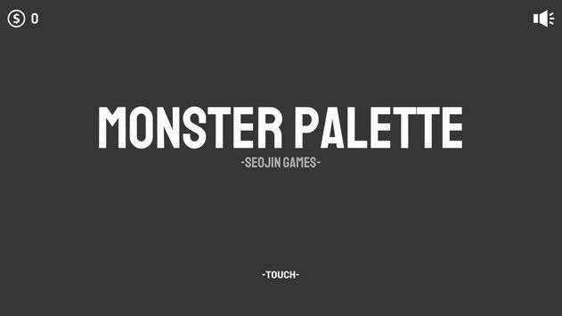 Monster Palette poster