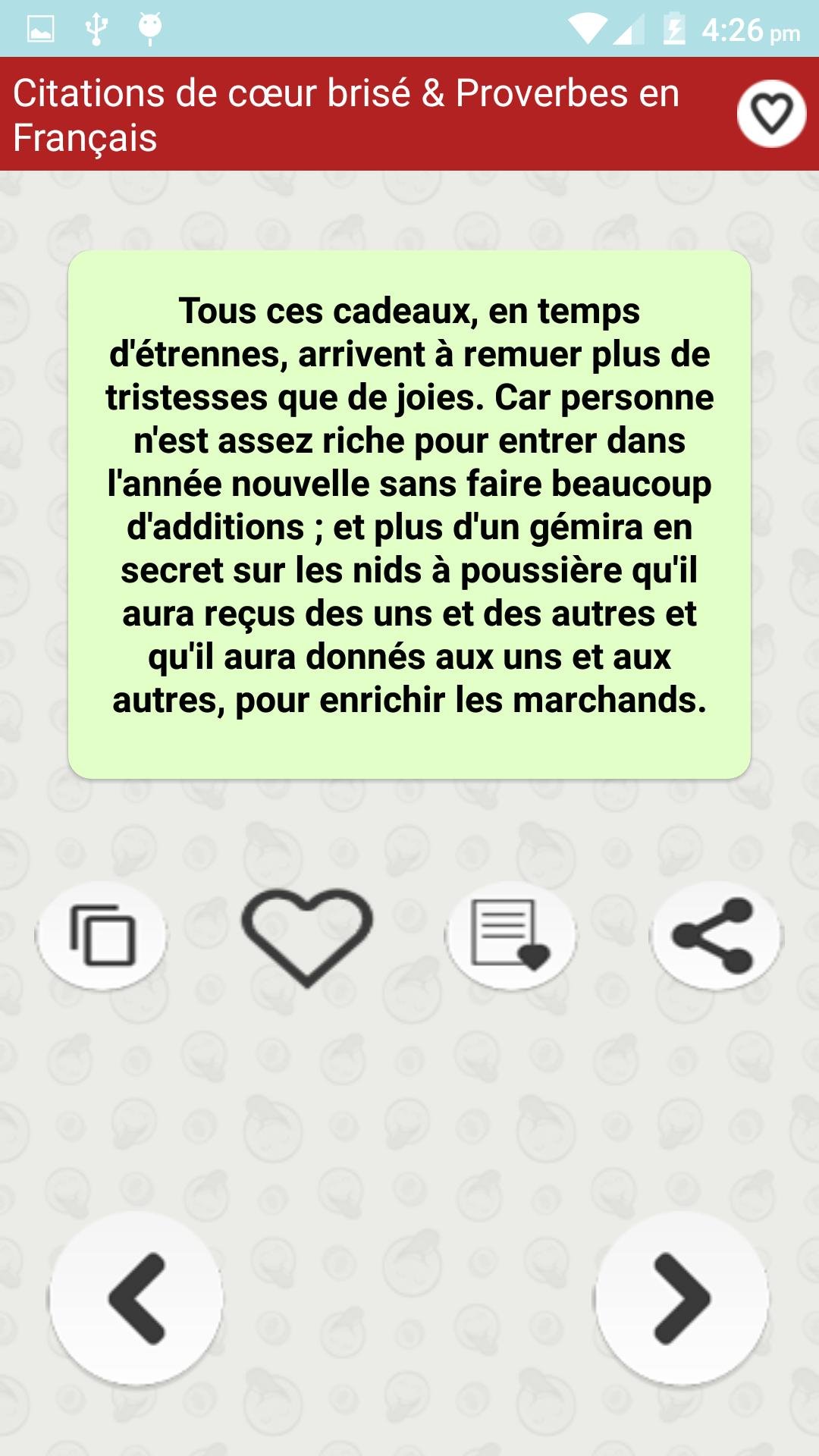 Citations De Cœur Brisé For Android Apk Download