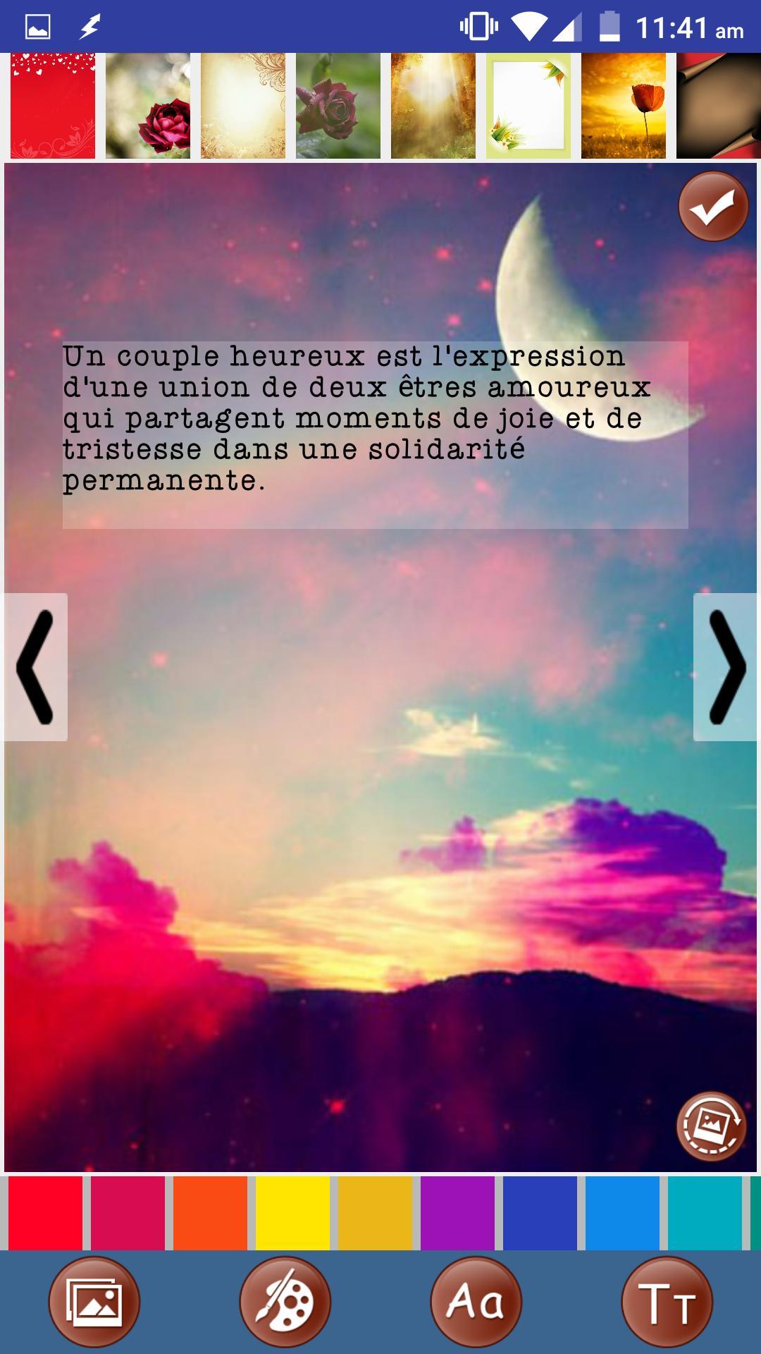 Citations D Amour Romantique For Android Apk Download