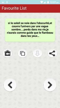 Citations romantiques & Proverbes en Français poster