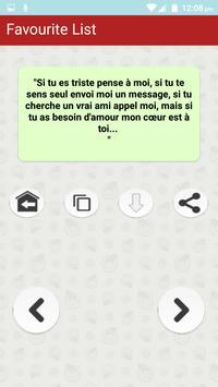 Citations romantiques & Proverbes en Français screenshot 7