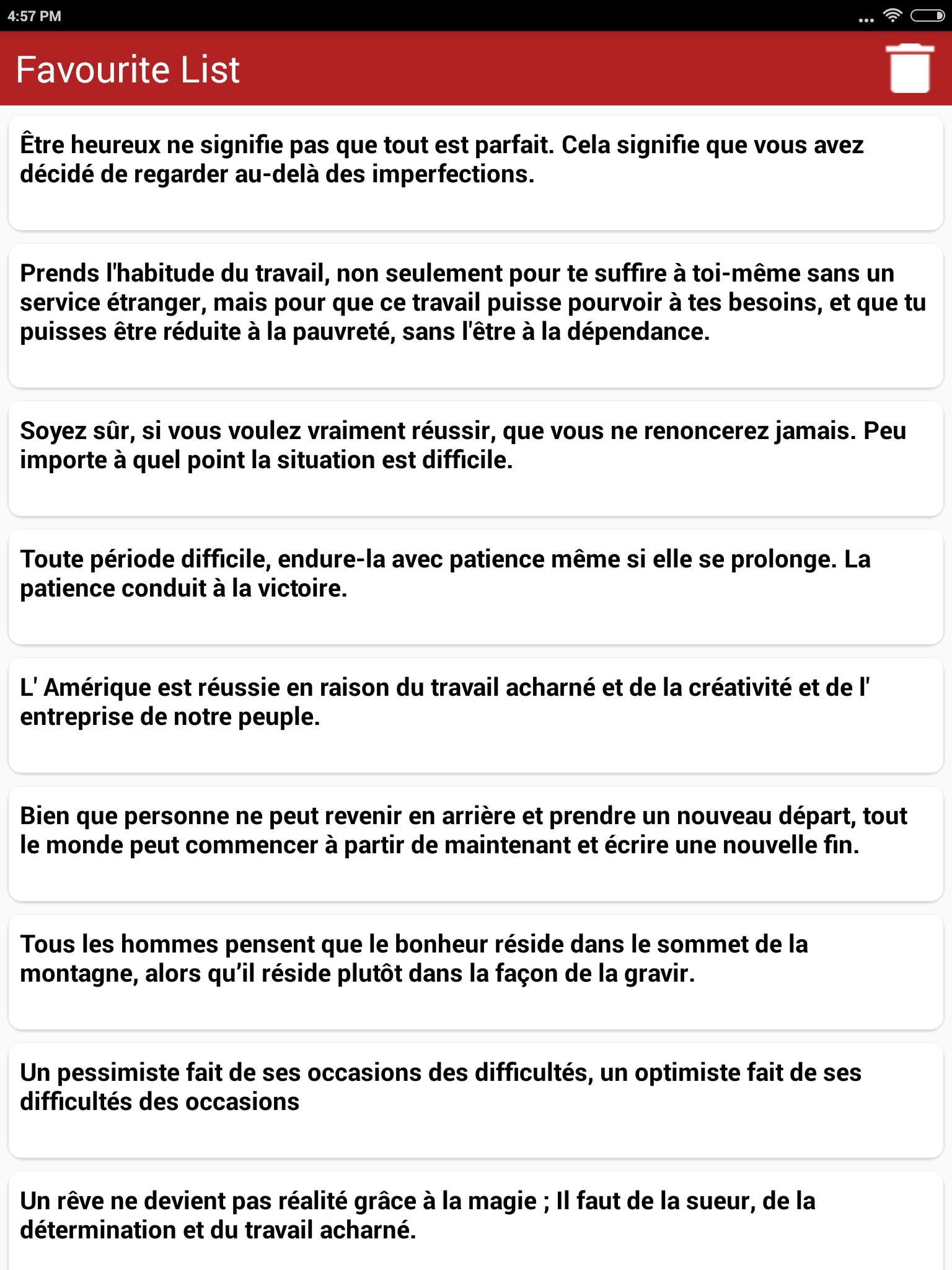 Citations Sur La Réussite Pour Android Téléchargez L Apk