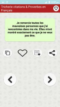 Citations de Tricherie screenshot 4