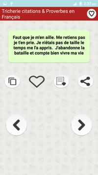 Citations de Tricherie screenshot 5