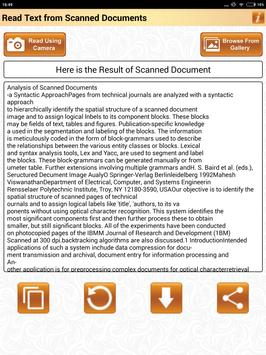 Read Text of Scanned Documents screenshot 9