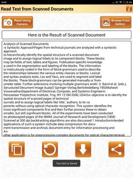 Read Text of Scanned Documents screenshot 23