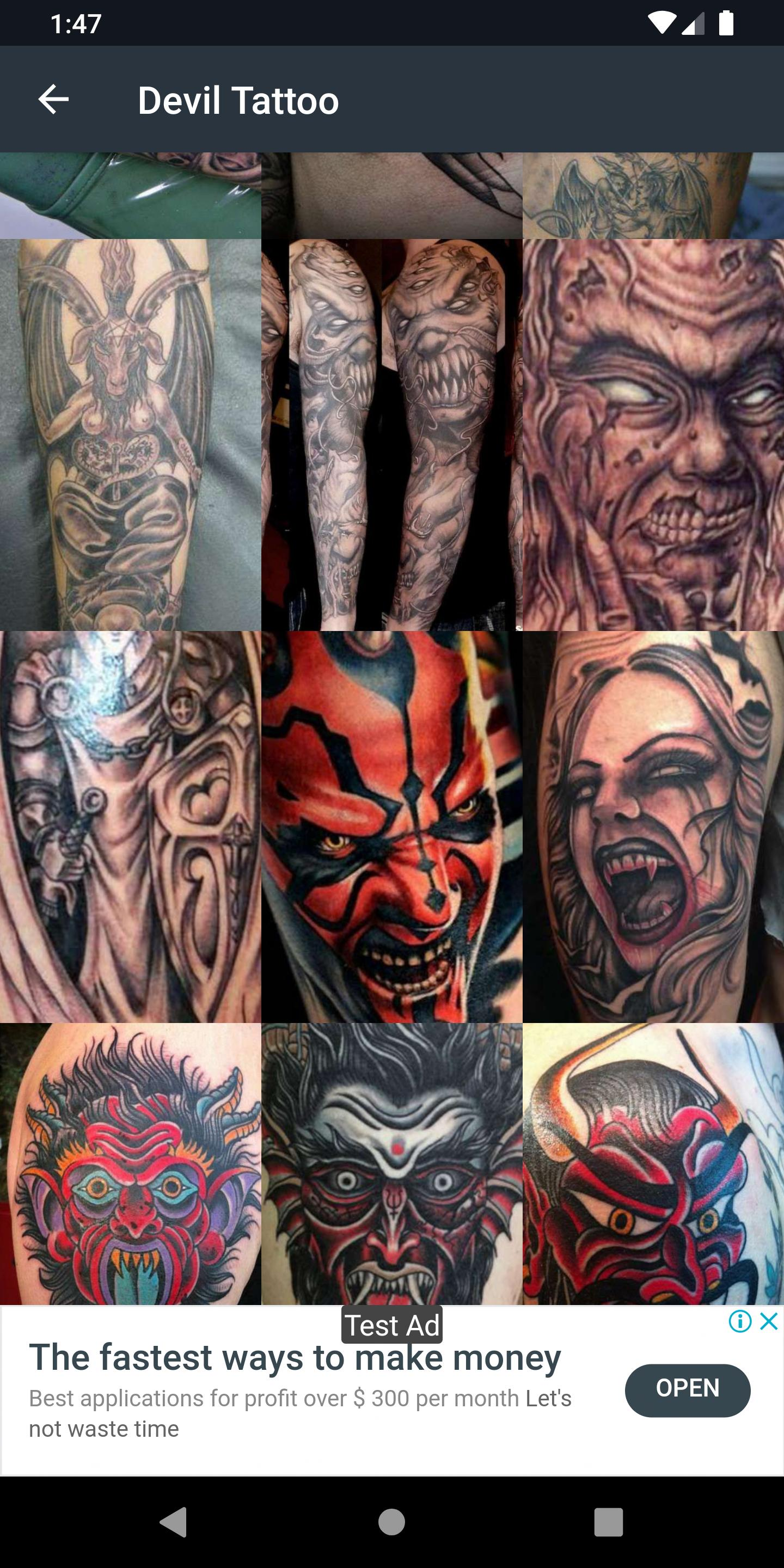 Devil Tattoo For Android Apk Download
