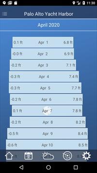 Tide Charts - Free ảnh chụp màn hình 1