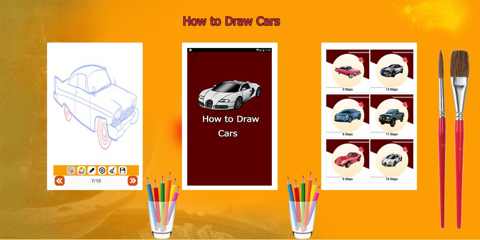 Learn How To Draw Race Cars Step By Step For Android Apk Download