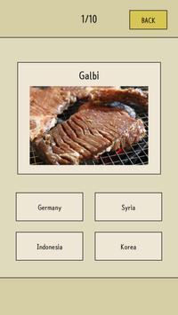 World Food Quiz screenshot 1