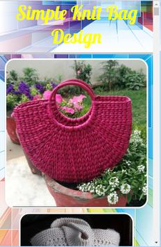 Simple Knit Bag Design screenshot 4