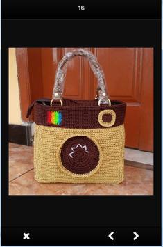 Simple Knit Bag Design screenshot 7