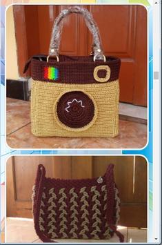 Simple Knit Bag Design screenshot 2