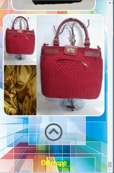 Simple Knit Bag Design screenshot 3