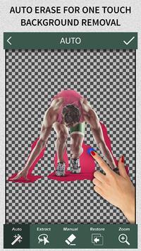 1 Schermata Slick - Auto Changer e Eraser di sfondo