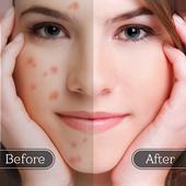 الوجه عيب مزيل - الجلد على نحو سلس وتجميل الوجه أيقونة