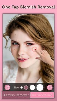 الوجه عيب مزيل - الجلد على نحو سلس وتجميل الوجه تصوير الشاشة 2