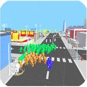 Run in Crowd City 2 icon