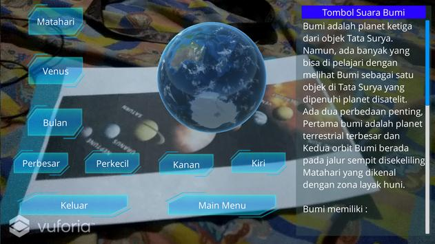 Visualisasi Augmented Reality Tata Surya screenshot 2
