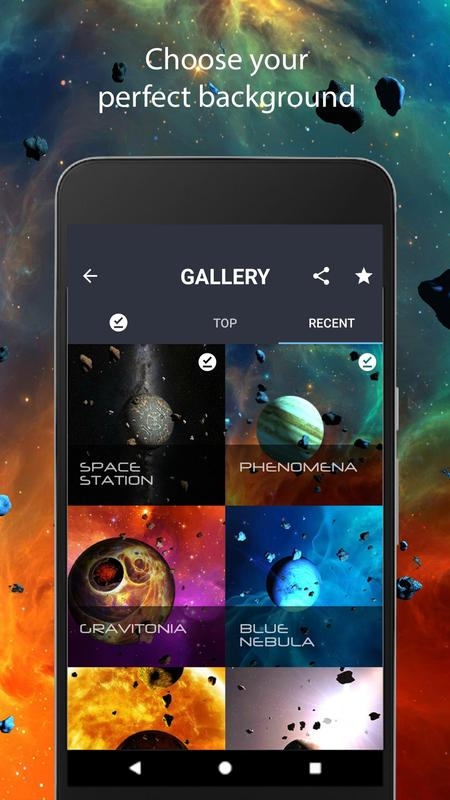 Asteroids 3d Live Wallpaper For Android Apk Download