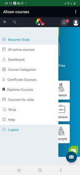 Alison:free courses screenshot 1