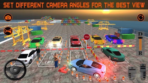Realistic Car Parking 2019:Driving Test Simulator screenshot 4