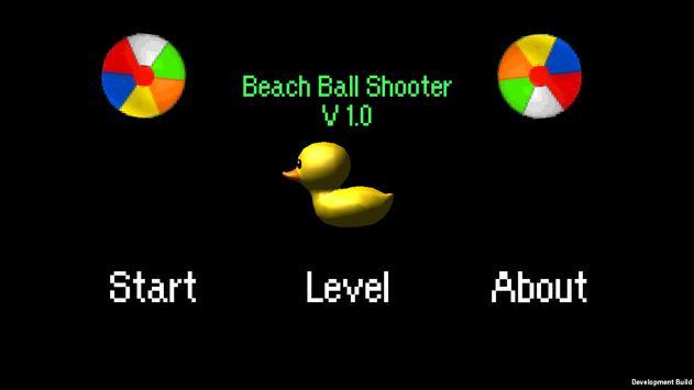 Beach Ball Shooter! poster