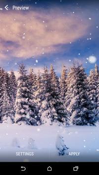 Snowfall Live Wallpaper screenshot 4