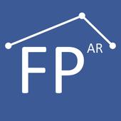 Sơ đồ tầng AR | Đo lường phòng biểu tượng