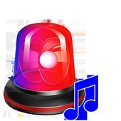 Police Siren Sound &  Best Siren Ringtones icon