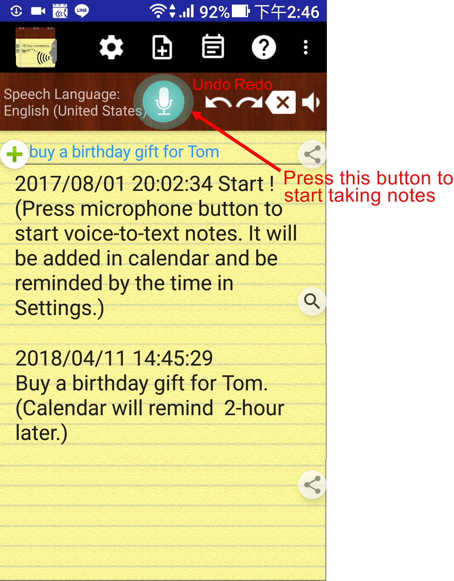 Voice Notes for Android - APK Download