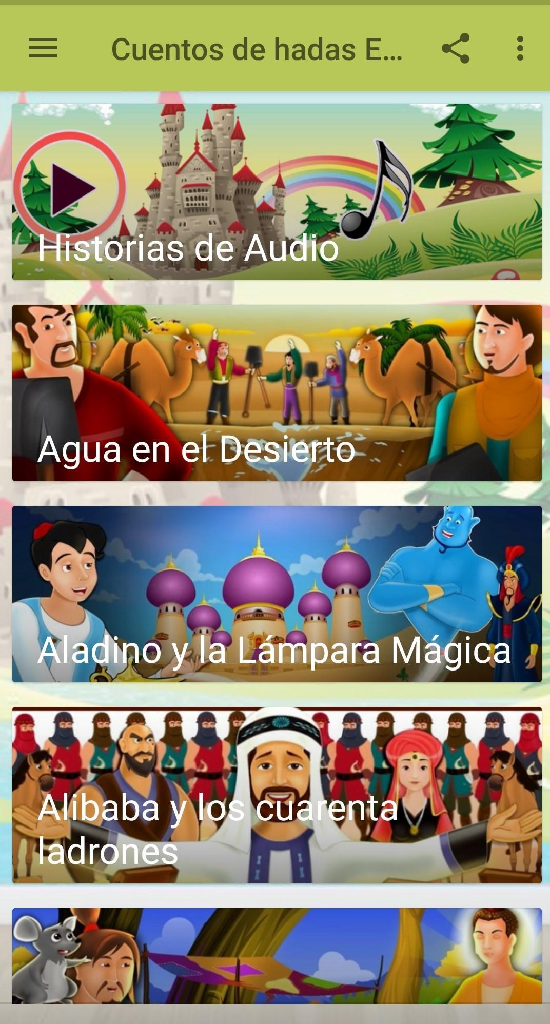Spanish Fairy Tales for Android - APK Download
