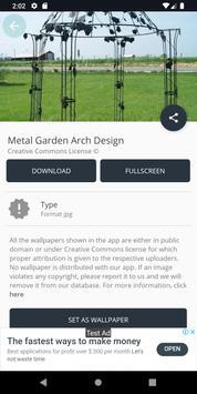 Metal Garden Arch Design screenshot 12