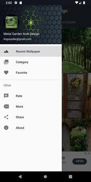 Metal Garden Arch Design screenshot 14