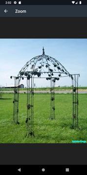 Metal Garden Arch Design screenshot 8