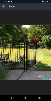 Metal Garden Fence Panels Design screenshot 3