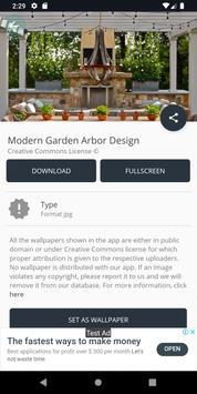 Modern Garden Arbor Design screenshot 12