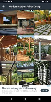 Modern Garden Arbor Design screenshot 1