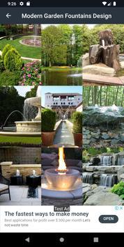 Modern Garden Fountains Design screenshot 6
