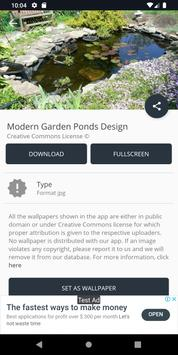 Modern Garden Ponds Design screenshot 7