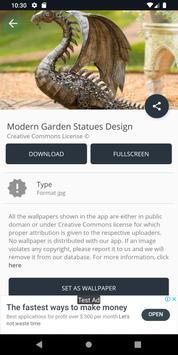Modern Garden Statues Design screenshot 7