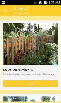 Natural Garden Fences Design screenshot 1