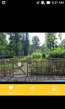 Natural Garden Fences Design screenshot 5