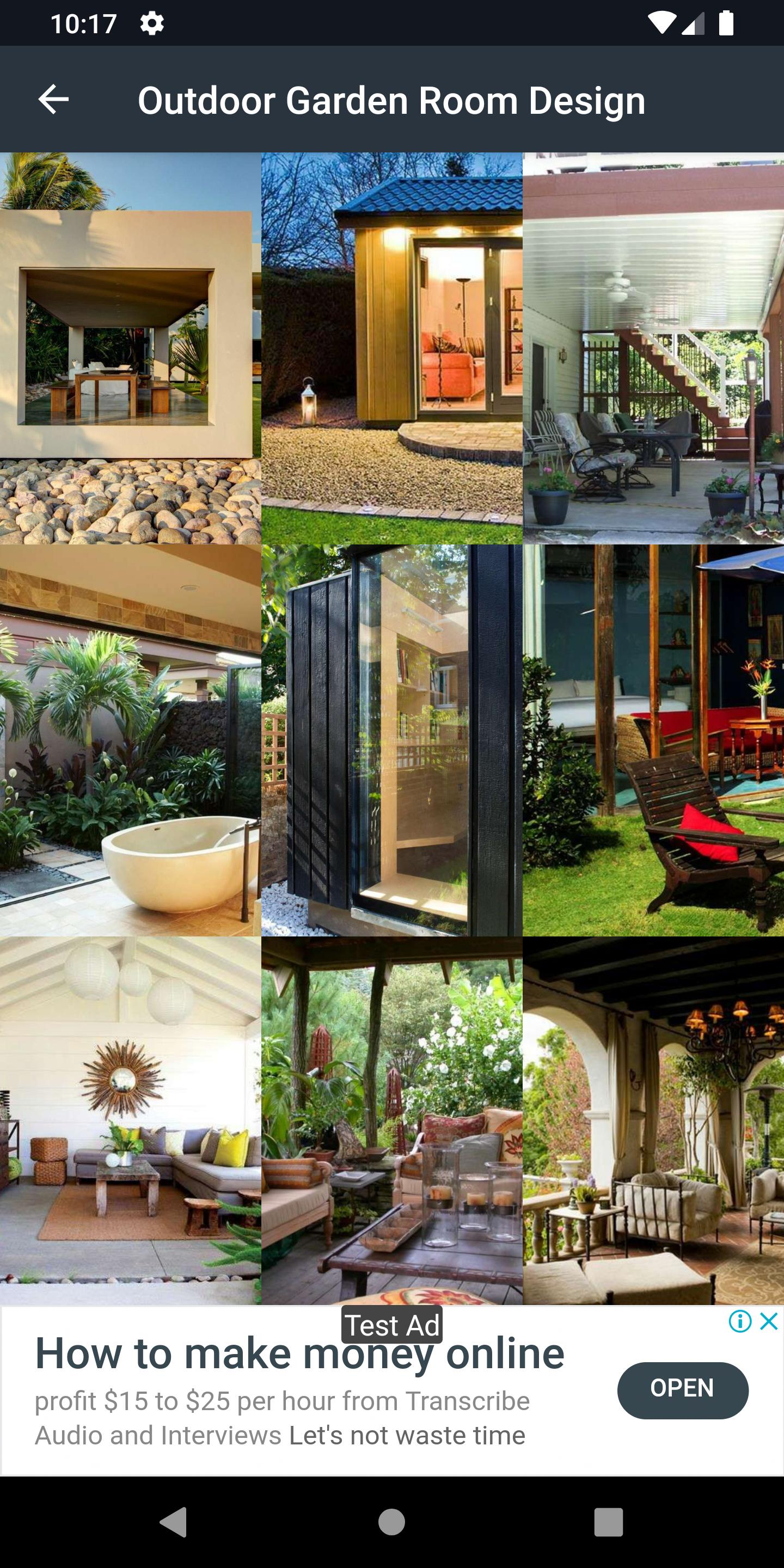 Outdoor Garden Room Design For Android Apk Download