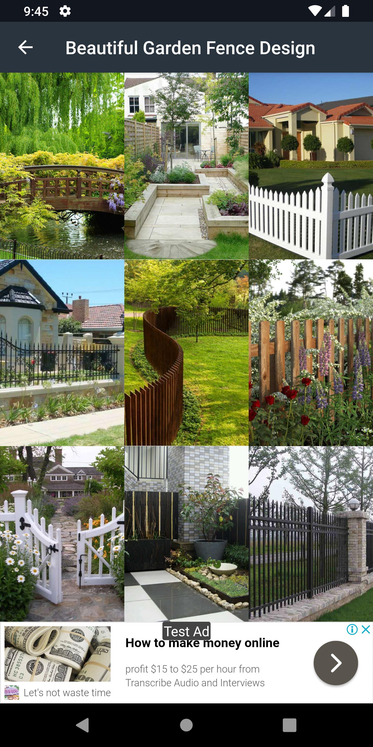 Beautiful Garden Fence Design For Android Apk Download