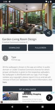 Garden Living Room Design screenshot 12